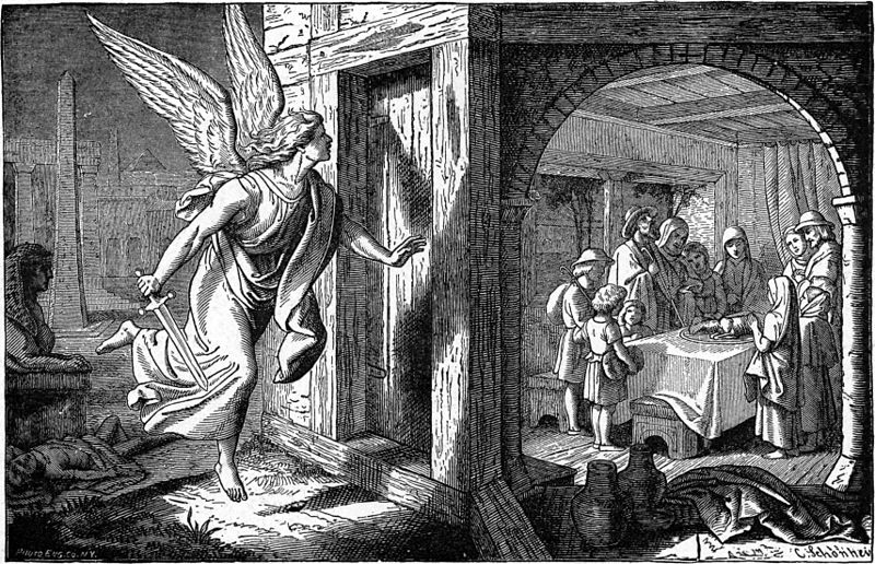 Angel of Death and the First Passover