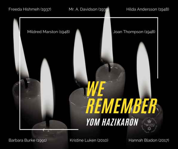 We Remember. Yom Hazikaron.