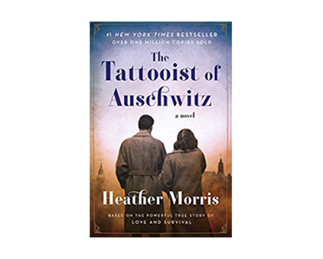 Tattooist of Auschwitz book cover